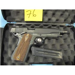 restricted-- GSG German sport guns GSG 1911 semi automatic 22 long rifle two clips with case made in