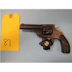 prohibited - - Iver Johnson revolver 5 shot 32 Caliber double action 76 mm Barrel