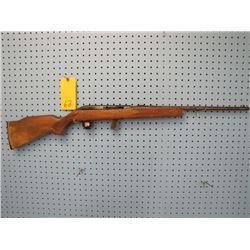 Lakefield model 64b semi-automatic clip 22 long rifle butt plate a little oversized and canvas used