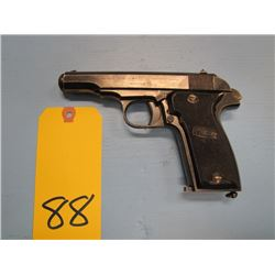 prohibited ... Mab model r semi automatic pistol calibre 7.65 mm made in France barrel length 100 m