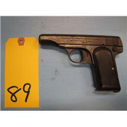 prohibited... fabrique nationale d'armes De Guerre herstal belgique Browning's patent depose semi au