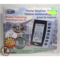 NEW THERMOR WEATHER STATION