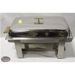 STAINLESS STEEL CHAFING DISH (MISSING WATER PAN)
