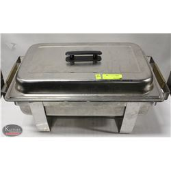 STAINLESS STEEL CHAFING DISH W/O INSERT