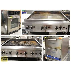 FEATURED LOTS: COMMERCIAL COUNTER-TOP COOKING EQUIPMENT