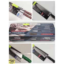 FEATURED LOTS: NEW COMMERCIAL KNIVES