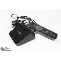 PHILIPS TV BOX WITH CORDS