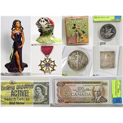 FEATURED COINS, CURRENCY, COLLECTIBLES