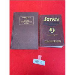 1920's-30's 2 Hardcover Automotive Books