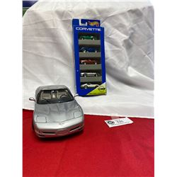Nice Corvette Lot Hotwheels and 1:18 Diecast Corvette