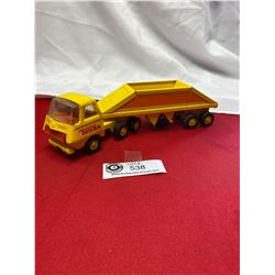 Vintage Tonka Truck and Trailer