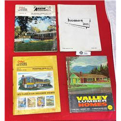 Lot fo 4 Vintage Home Design Books from BC