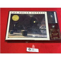 Polar Express Hard Cover Book Collector's Case Set