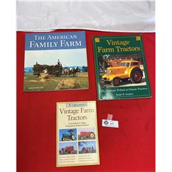 Lot of 3 Tractor And Farm Implement Books