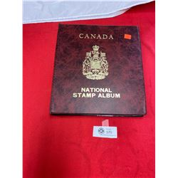 Canada National Stamp Album with Lots of Stamps