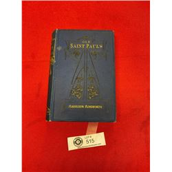 Old St. Paul's Hardcover Book