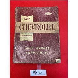 1962 Cheverolet Shop Manual