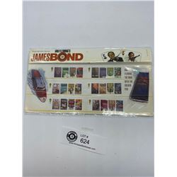 Royal Mail Mint James Bond Stamp Collection Set.
