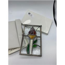 Small Stained Glass Window Hanger