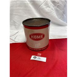 Vintage 5lb Home Grease Tin