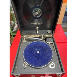 Working Condition AntiquePortable Record Player