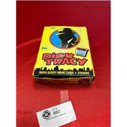Full box of Topps Dick Tracey Tradig cards
