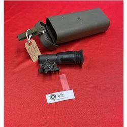 German Hensolddt Sud 2.6 6x13 Sniper Scope 4 AK Type
