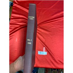 Vol 1 1960 Shooting Times Hardcover Book