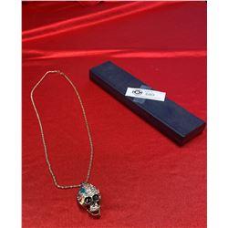 Skull Bling Necklace