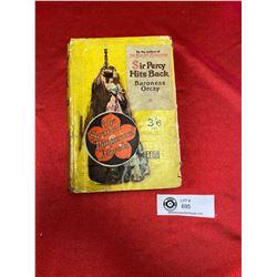 """1930's """"Scarlet Pimpernel """"  Novel in Dust Jacket"""