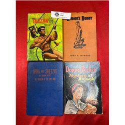 4 Vintage Kids Books