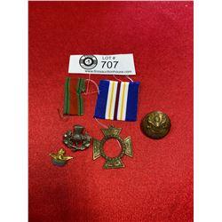 Vintage Military Lot Ribbons Etc