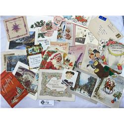Lot of Vintage Birthday,Christmas and Mother's Day Cards