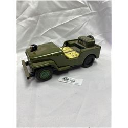 Vintage Made in Japan Army Jeep as Found