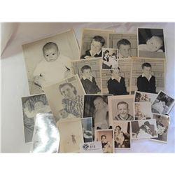 20+ Vintage 1930's-60's Baby Photos etc
