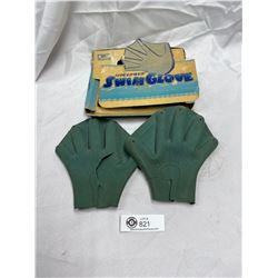 Vintage Speed Web Swim Glove with Box