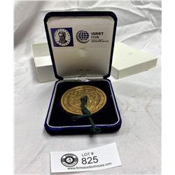 Japanese Medallion in Presentation Box