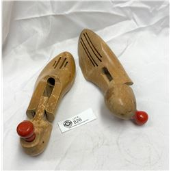 Vintage Wood Shoe Trees Made in Canada
