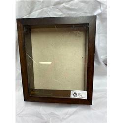 Nice Small Showcase Needs New Glass