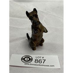 Royal Doulton Dog Figurine. ( Nick on 1 Ear.)