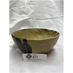 1960's West Coast Motif Pottery Bowl