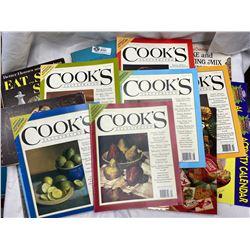 Box of Vintage Cookbooks