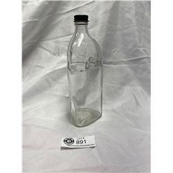Vintage Triangular Anti Freeze Bottle