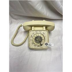Nice Vintage Cream Coloured Rotary Phone