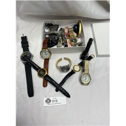 Small Box Lot of Vintage Watches