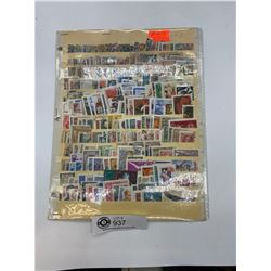 Lot of 350 Plus different Russian Stamps