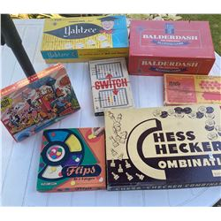 Lot of Vintage Board Games. Great Graphics