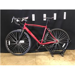 RED CCM ENDURANCE 14 SPEED ROAD BIKE, 79 CM STANDOVER HEIGHT