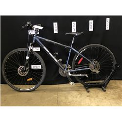 BLUE ROCKY MOUNTAIN WHISTLER 10 24 SPEED FRONT SUSPENSION MOUNTAIN BIKE WITH FRONT AND REAR DISC