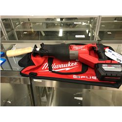 MILWAUKEE M18 SAWZALL WITH BAG